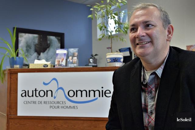 André Beaulieu, directeur général d'AutonHommie, un organisme de... (Le Soleil, Patrice Laroche)