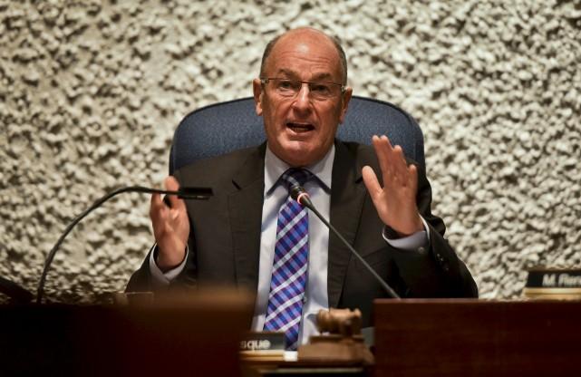 Le maire de Trois-Rivières Yves Lévesque... (François Gervais)