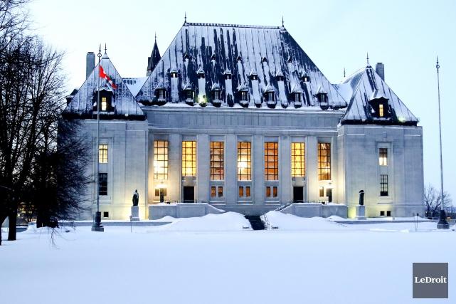 La Cour suprême du Canada, à Ottawa, devrait... (Archives Le Droit)