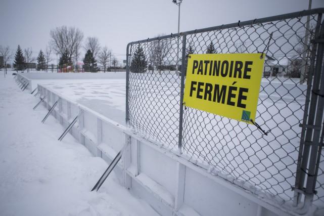 Les conditions climatiques forcent la Ville de Trois-Rivières... (Olivier Croteau)