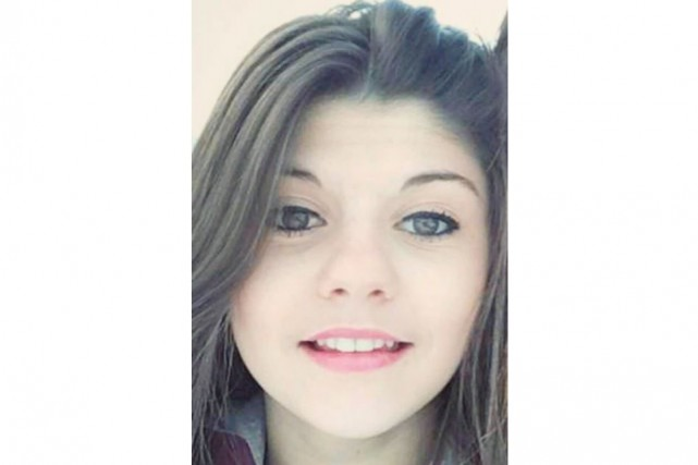 Audrey Gagné, une jeune fille de 15 ans, est portée disparue depuis le 2... (Photo courtoisie)