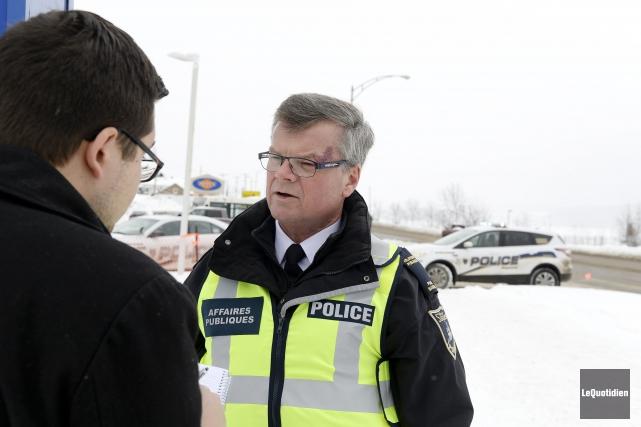 Les policiers de Saguenay ont connu une période des Fêtes «comme les autres»,... (Photo Le Quotidien, Jeannot Lévesque)
