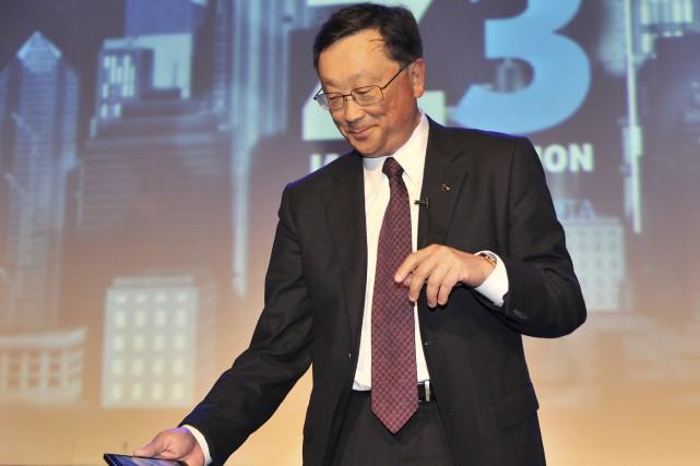 Selon Canadian Business, John Chen, pdg de Blackberry,... (AFP, Adek Berry)