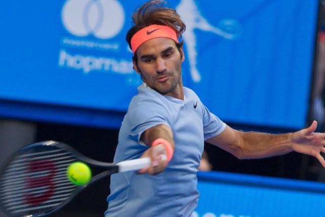 Roger Federer... (Photo Tony Ashby, Agence France-Presse)