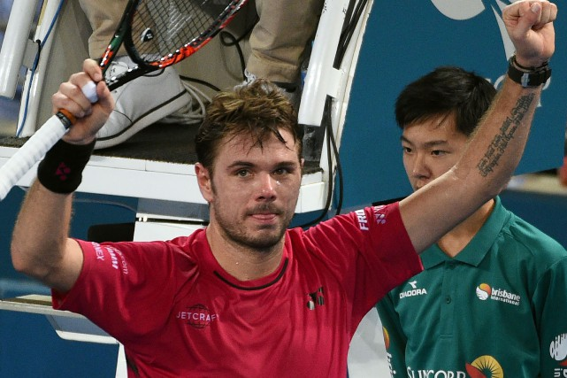 Stan Wawrinka... (Photo Saeed Khan, Agence France-Presse)