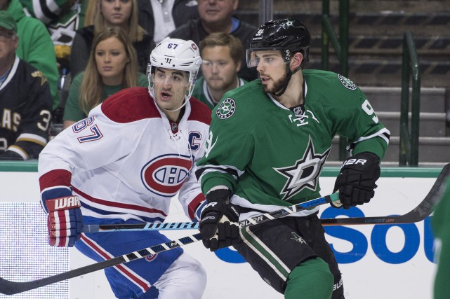 Max Pacioretty et Tyler Seguin.... (Photo Jerome Miron, archives USA Today Sports)