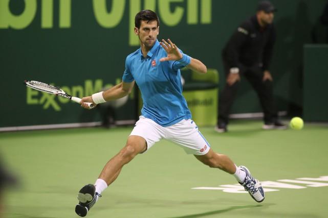 Novak Djokovic... (Photo Karim Jaafar, AFP)