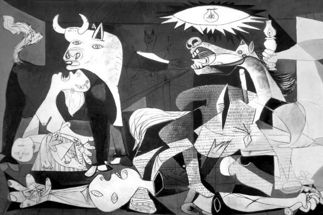 Symbole de la cruauté de la guerre, Guernicaest... (Fournie par le musée Reina Sofia)