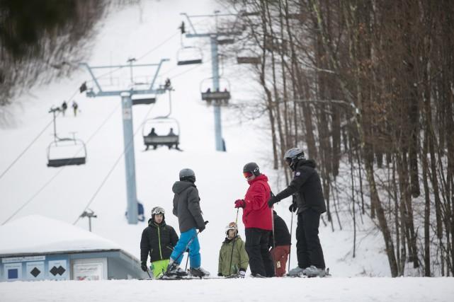 Tout comme dans les autres stations de ski... (Spectre média, René Marquis)