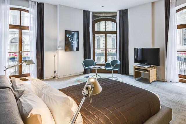 À Montréal, l'Hôtel Gault faisait partie des quatre... (fournie par l'Hôtel Gault)