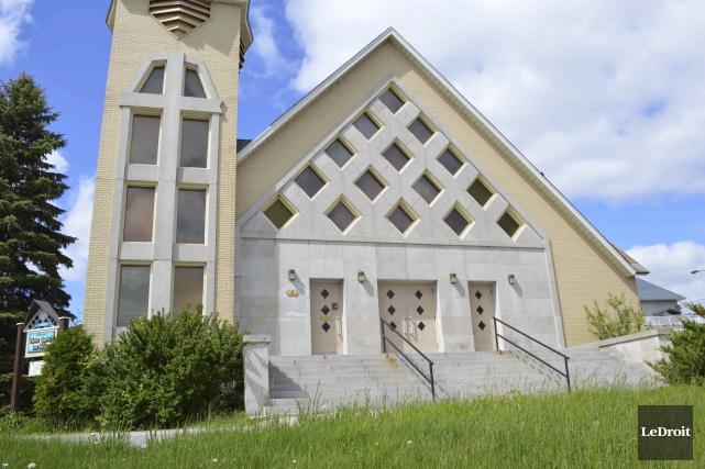 L'église Notre-Dame-des-Neiges sera mise en vente au cours... (Archives, LeDroit)