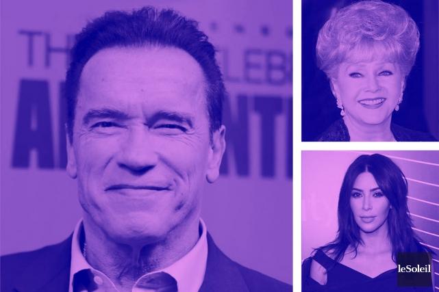 Schwarzenegger à l'aise dans les souliersde Trump (Infographie Le Soleil)