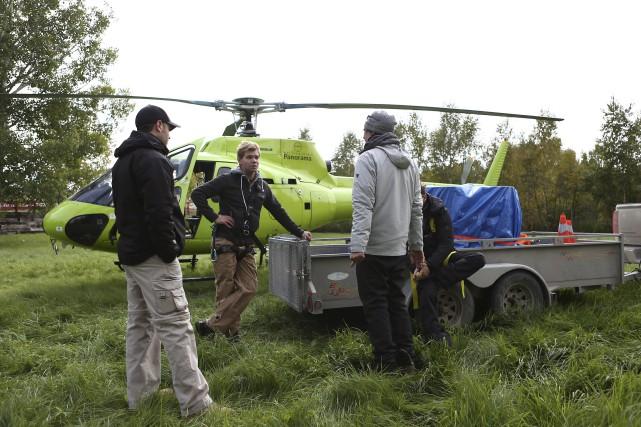 Le tournage d'Identités a été effectué l'automne dernier,... (Photo courtoisie, Mathieu Langevin)