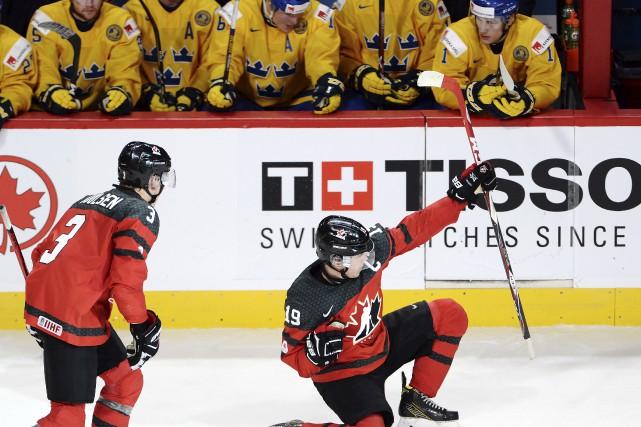 Le capitaine Dylan Strome a marqué le quatrième... (Ryan Remiorz, La Presse canadienne)