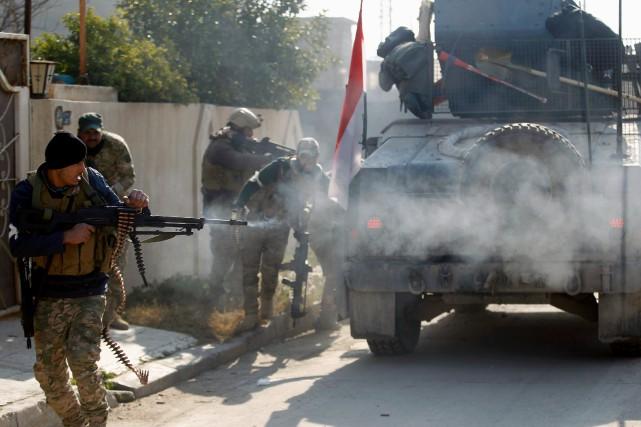L'armée a annoncé jeudi qu'«une opération militaire» avait... (REUTERS)