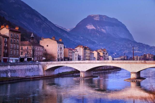 Grenoble est une porte d'entrée magistrale pour le... (PHOTO THINKSTOCK)