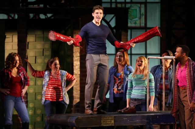 La comédie musicaleKinky Boots, gagnante desix Tony Awards,... (Photo Martin Chamberland, La Presse)