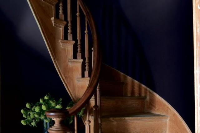 Benjamin Moore a choisi la couleur Clématis, richement... (PHOTO FOURNIE PAR BENJAMIN MOORE)