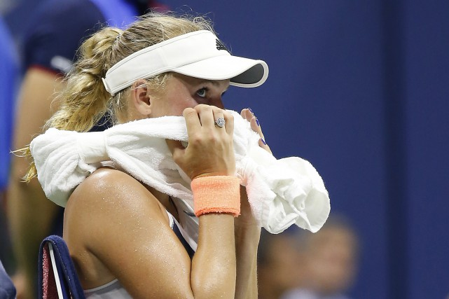 Caroline Wozniacki... (Photo Geoff Burke, archives USA Today Sports)