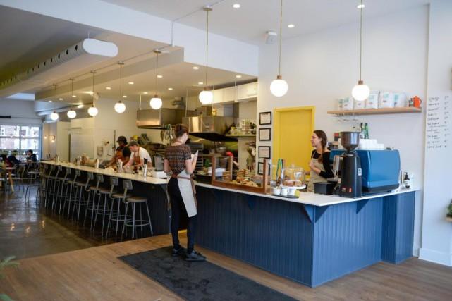 Microboutique à l'avant, café au milieu avec un... (PHOTO CATHERINE LEFEBVRE, COLLABORATION SPÉCIALE)