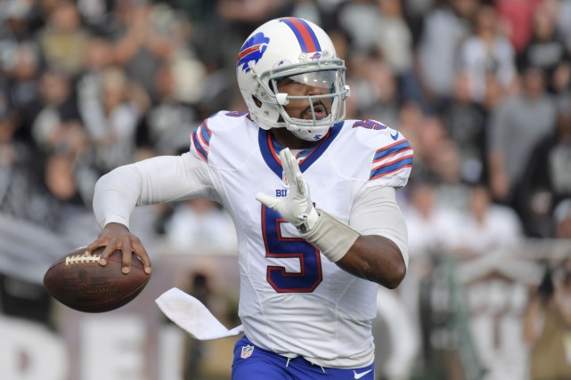 Tyrod Taylor... (Photo Kirby Lee, archives USA Today Sports)