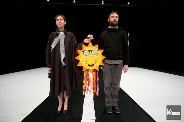 Jasna L. Vinourski et Clément Layes... (PHOTO FRANÇOIS ROY, LA PRESSE)