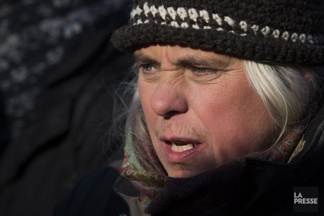 La députée de Québec solidaire, Manon Massé.... (Photo Olivier PontBriand, archives La Presse)