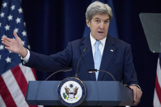 Le secrétaire d'État américain sortant John Kerry a... (Photothèque Le Soleil)