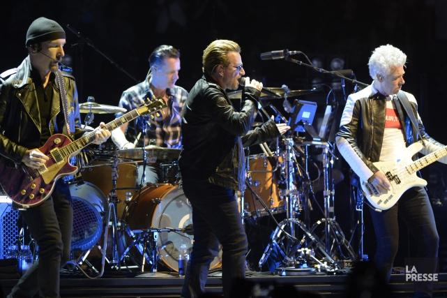 Trois ans aprèsSongs of Innocence, U2 délivreraSongs of... (archives La Presse)