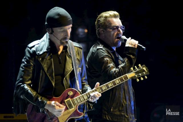 U2 commencera le 12 mai à Vancouver (Canada) une tournée en Amérique du nord et... (PHOTO ARCHIVES LA PRESSE)