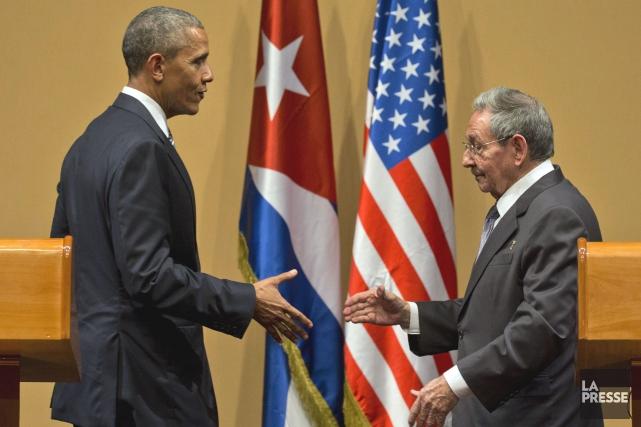 En mars dernier, la visite historique de Barack... (PHOTO D'ARCHIVES)
