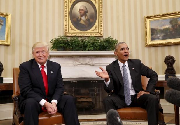 La victoire de Donald Trump lors des élections... (The Associated Press)