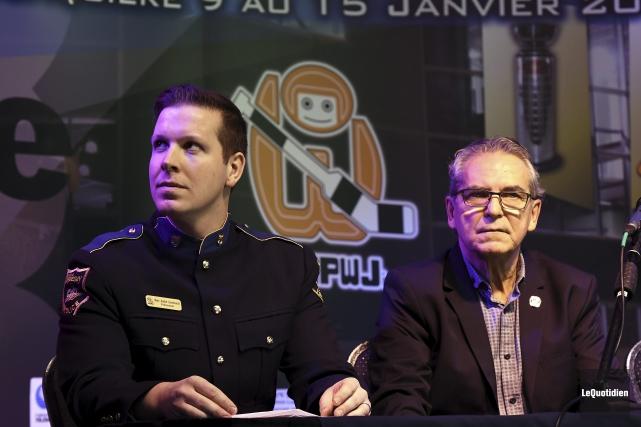 Le président de la 53e édition du Tournoi... (Photo Le Quotidien, Rocket Lavoie)