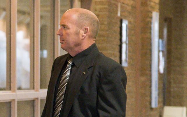 Tom Harding entend se rendre à son procès... (Spectre Média, Marie-Lou Béland)