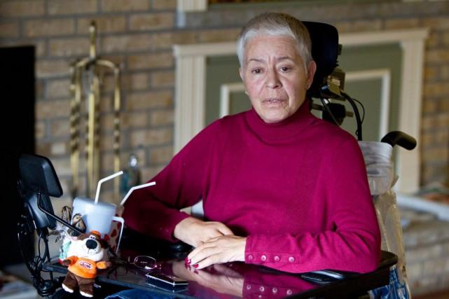Hélène Leduc, qui était gérante de la succursale... (PHOTO EDOUARD PLANTE-FRÉCHETTE, ARCHIVES LA PRESSE)