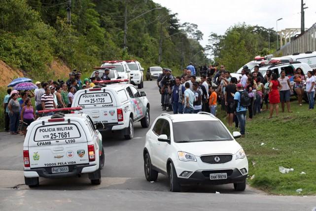 Soixante détenus ont été tués plus tôt cette... (AFP, Marcio Silva)