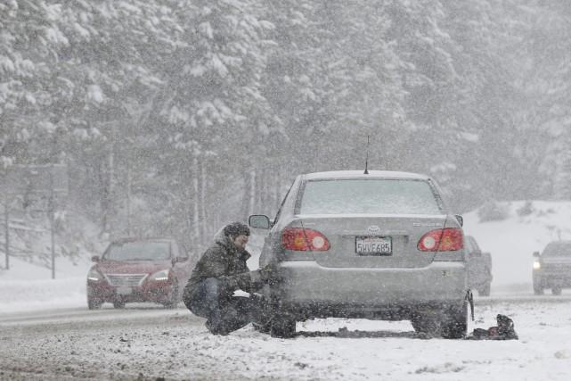 Le mois de décembre avait déjà été particulièrement... (photo Rich Pedroncelli, archives AP)