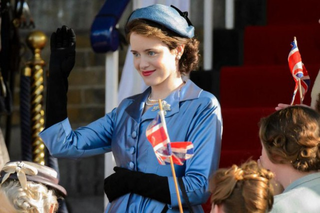 Claire Foy dans The Crown... (Photo fournie par Netflix)