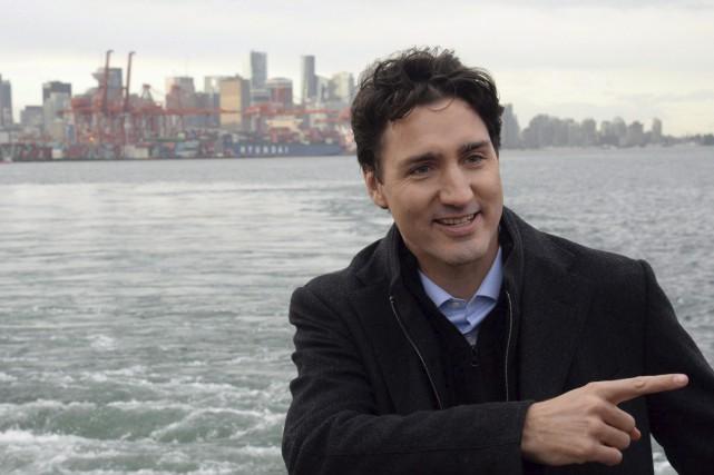 Justin Trudeau prévoit effectuer une tournée de type... (La Presse canadienne, Jonathan Hayward)