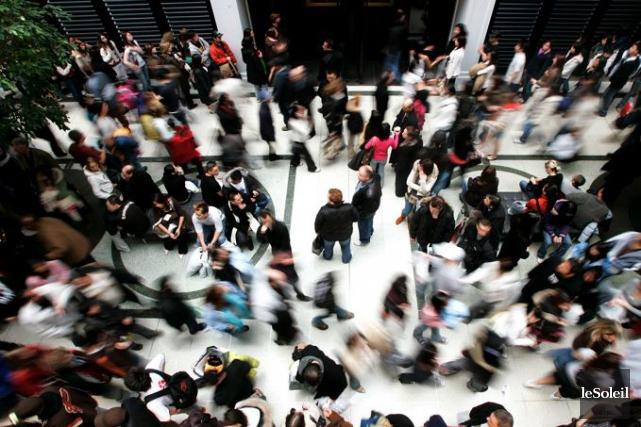 En région, le taux de chômage a peu... (Archives, Le Soleil)