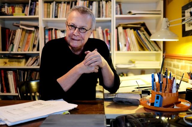 Michel Garneau, alias Garnotte, est caricaturiste au Devoir... (Alain Dion)