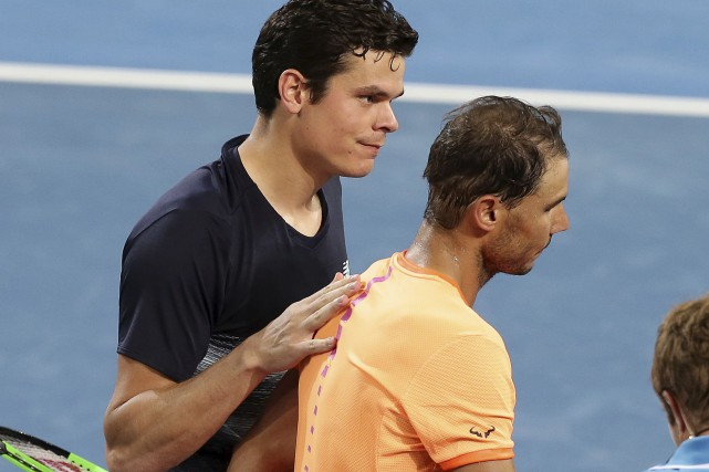 Milos Raonic s'est servi de ses 23 as et... (Associated Press)