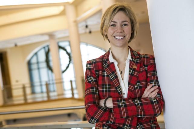 La nouvelle directrice générale du Musée québécois de... (Olivier Croteau)