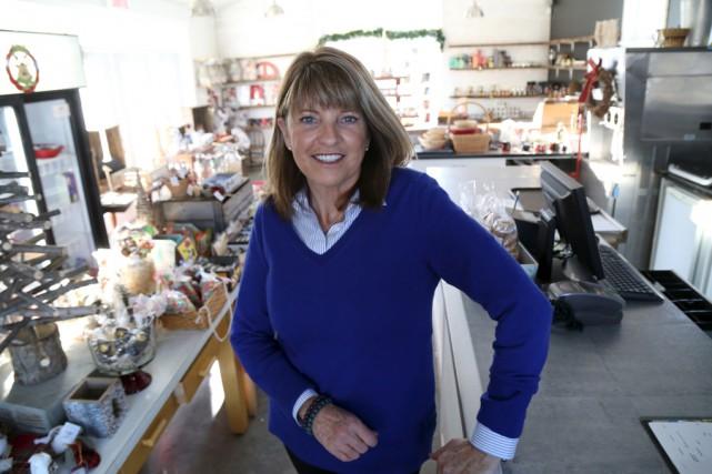 L'une des administratrices de la Ferme Héritage Miner,... (Janick Marois)