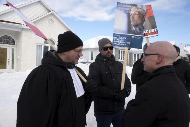 Les avocats et notaires de l'État québécois ont... (Stéphane Lessard, Le Nouvelliste)