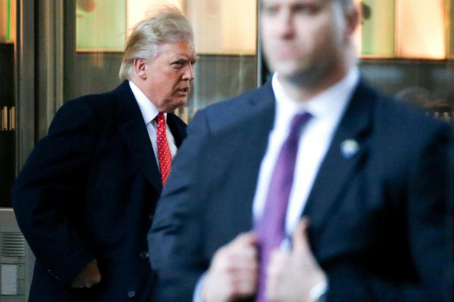 Donald Trump a révélé hier que le Congrès... (PHOTO BRENDAN McDERMID, REUTERS)