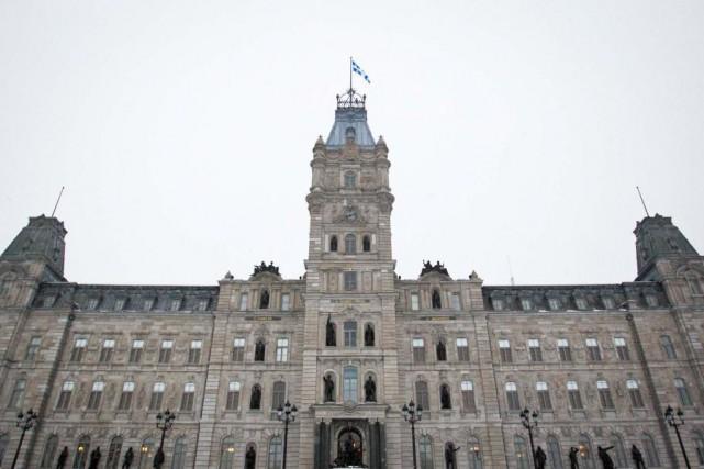 Les assemblées législatives provinciales du Canada siègent moins... (Photo Ivanoh Demers, Archives La Presse)