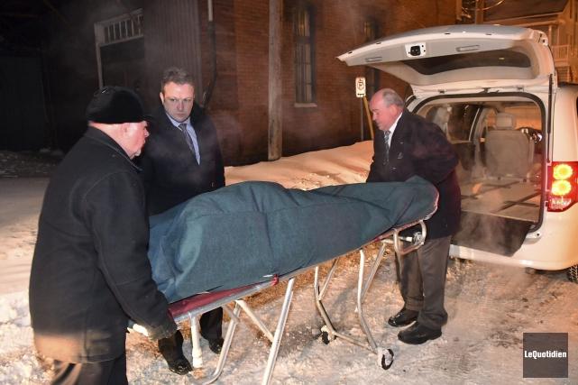 Le corps de l'homme retrouvé mort a été... (Photo Le Quotidien, Rocket Lavoie)