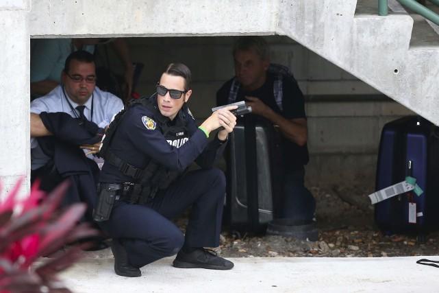 Pas étonnant qu'un attentat ou une fusillade en... (AP, David Santiago)
