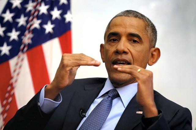 Barack Obamaprononcera mardi à Chicago son discours d'adieu.... (Photo Carlos Barria, archives REUTERS)